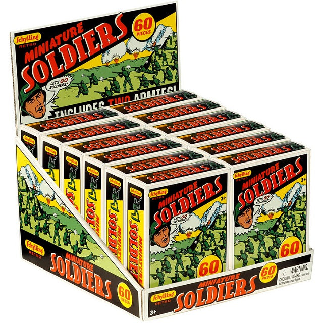 Mini Toy Soldiers, 60 count
