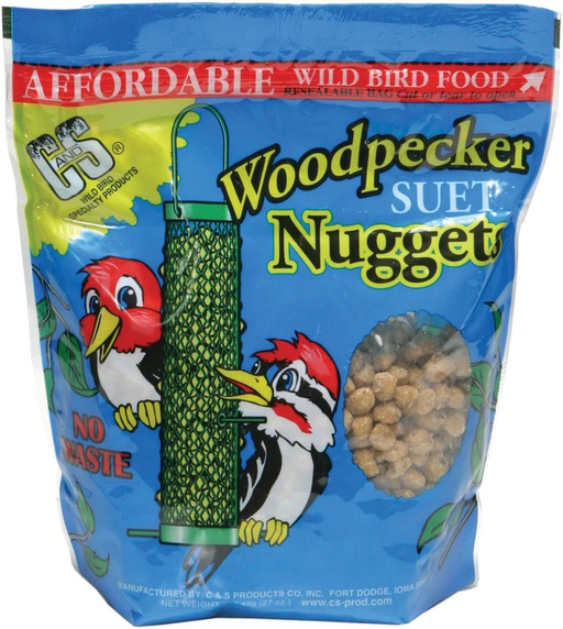 C&S Woodpecker Suet Nuggets 27oz