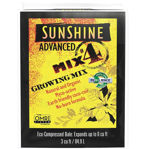 Sunshine® Advanced Mix #4 Growing Mix 3 cu. ft. Bale