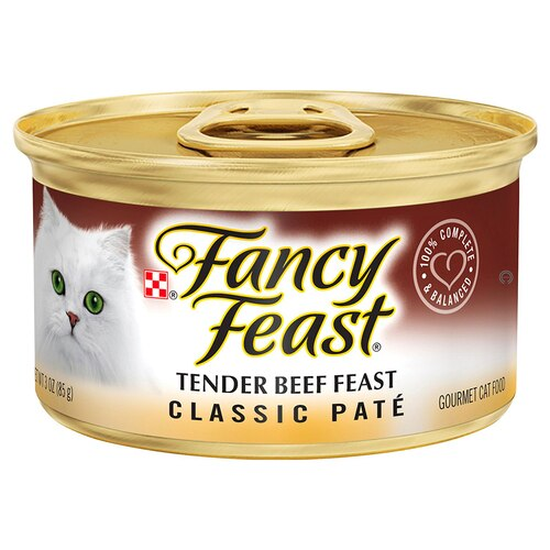 Fancy Feast Classic Pate Tender Beef Canned Cat Food