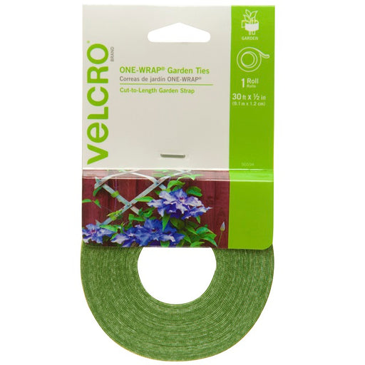 Velcro One-Wrap Plant and Garden Ties, 1/2 in. x 30 ft.