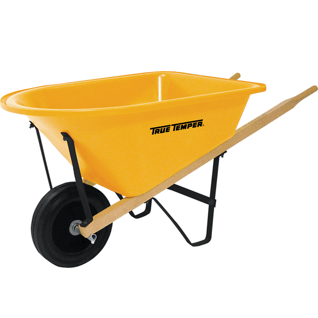 True Temper Lil' Kids Poly Wheelbarrow