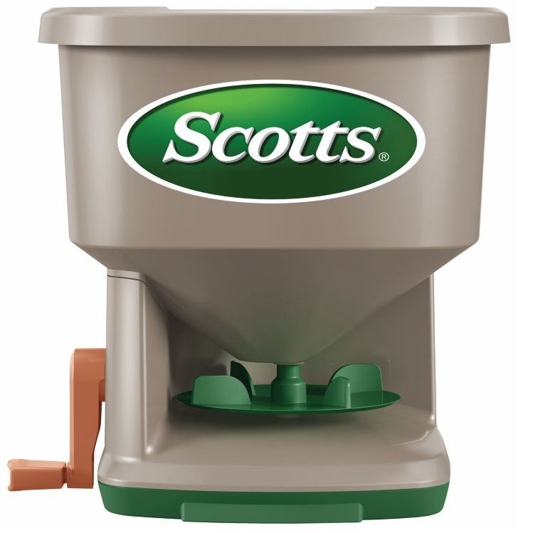 Scotts® Whirl™ Hand-Powered Spreader