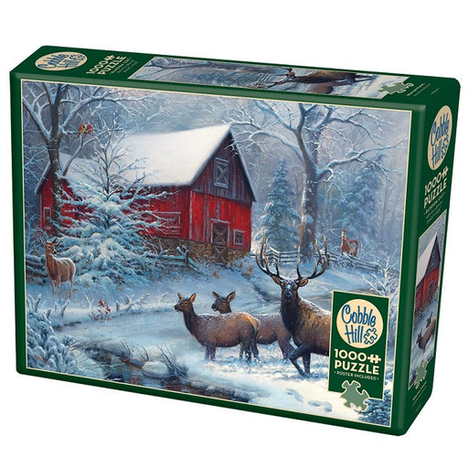 Cobble Hill 1000 Piece Jigsaw Puzzle, Winter Magic