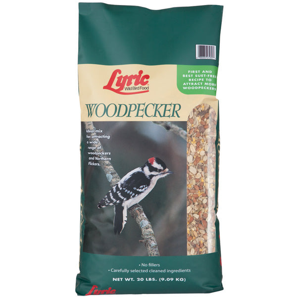 Lyric Woodpecker No Waste Mix 20 Lbs.
