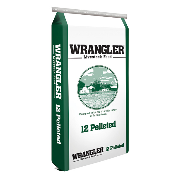 Wrangler 12% Multi-Species Pellet Feed