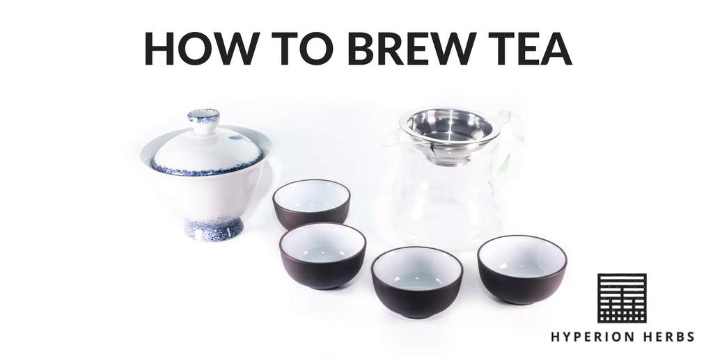 How to Brew Tea