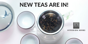 Brand New Teas Are In!
