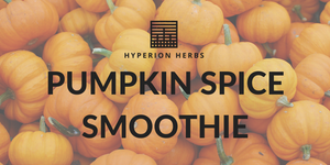 Pumpkin Spice Smoothie Recipe
