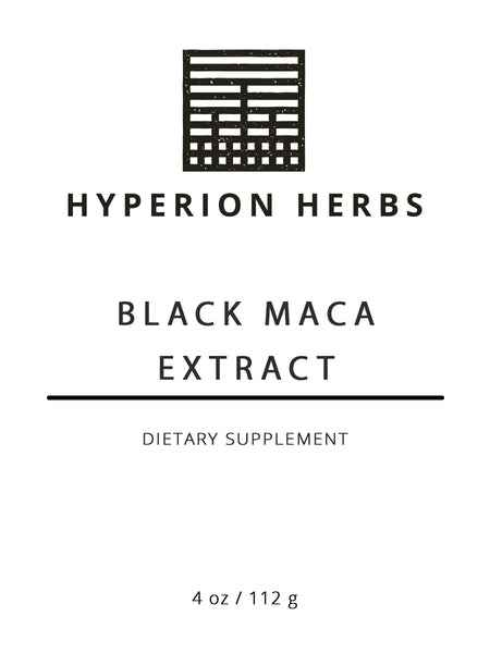 Black Maca Extract