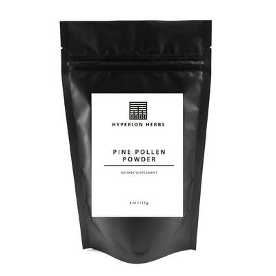 Cracked Cell Pine Pollen Powder - 4 oz | 112 grams