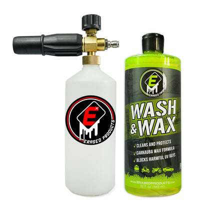 Pressure Washer Foam Cannon, Car Soap Blaster