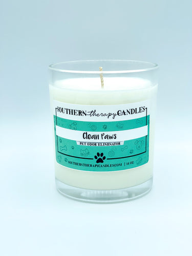 Clean Paws Odor Eliminator Candle