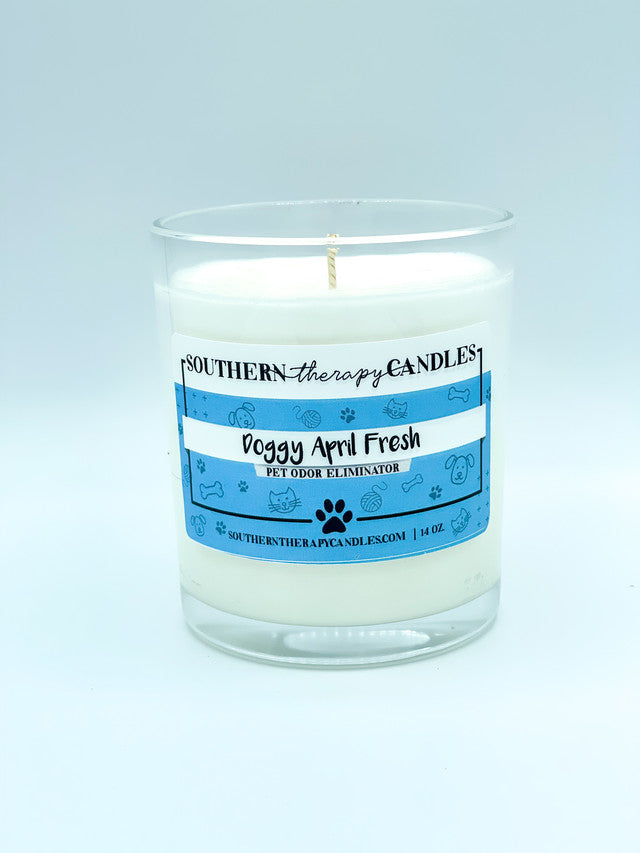Doggy April Fresh Odor Eliminator Candle