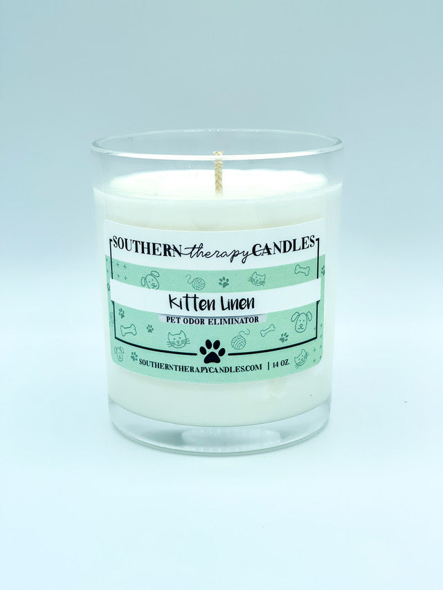 Kitten Linen Odor Eliminator Candle