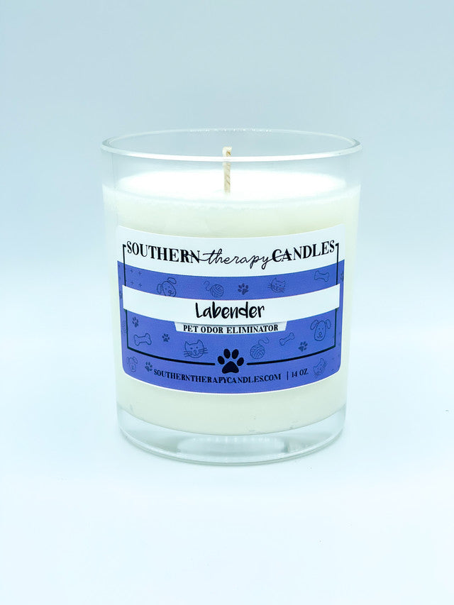 Labender Odor Eliminator Candle