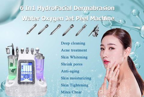 The small bubble skin management instrument is equipped with a special handle, which should be combined with special products. (Special products include exfoliation, whitening, anti-aging and other products). After the skin is applied, the instrument can be used to deep clean the residual skin and resist bacteria. Regeneration, at the same time make skin cells regenerate, whitening effect, restore skin health and whitening. 1. Lactic acid enters the pores clockwise and acts as a lipolysis to remove blackheads and whiteheads. 2. Remove aging keratinocytes and input high concentration of lactic acid at the site of absorption. After treatment, it is not dehydrated at all, and the skin is moist and smooth and shiny. The amount of the emulsion is adjusted by a supply tube located at the center of the control head to soften the cells and absorb sebum secretions and impurities for treatment. Remove dead cells and impurities by vacuum. Collagen promotes the inhibition of reactive oxygen species and delays skin aging.