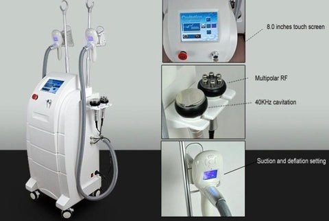 1. The current non-surgical medical cosmetic technologies and new hot spot. 2. More advanced than liposuction, fat melting technology. 3. Europear most popular new way to lose weight. 4. Can be up to 26% of the treatment area of new technology to destroy fat. 5. Superior RF and ultrasound fat melting technology. 6. Selectivity can be cut a fat waist, back fat and cellulite micro innovations.
