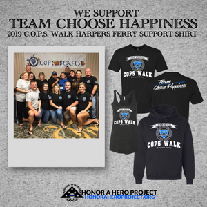2019 C.O.P.S. WALK HARPERS FERRY SUPPORT SHIRT