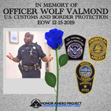 OFFICER WOLF VALMOND MEMORIAL SHIRT