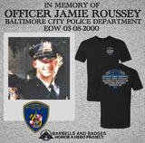 OFFICER JAMIE ROUSSEY MEMORIAL SHIRT