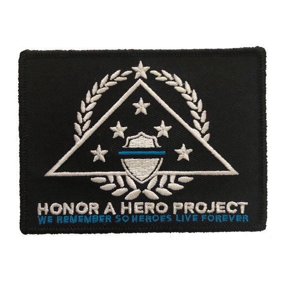 HONOR A HERO PROJECT VELCRO PATCH