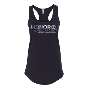 BLUE LINE INLAY WOMEN'S TANK TOP