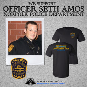 OFFICER SETH AMOS SUPPORT SHIRT