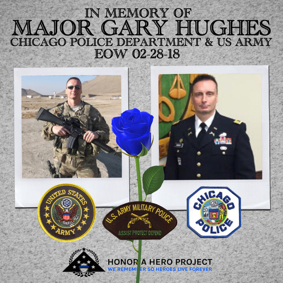 MAJOR GARY HUGHES