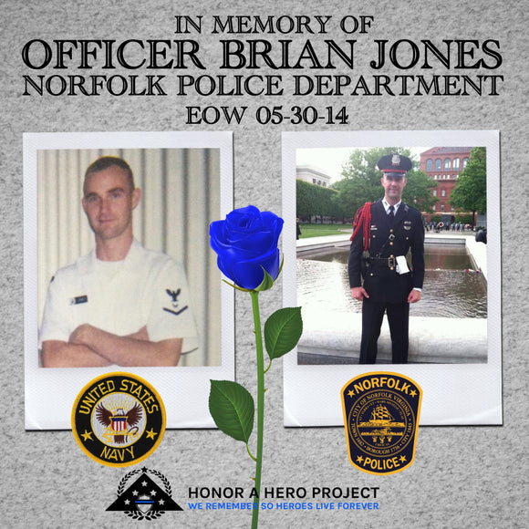 OFFICER BRIAN JONES