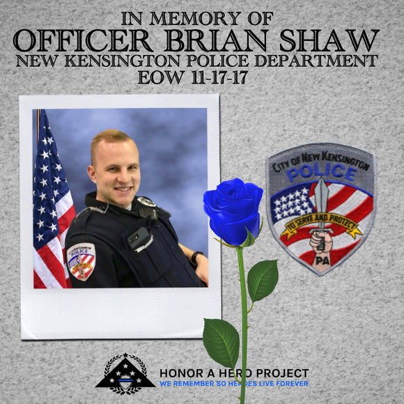 OFFICER BRIAN SHAW