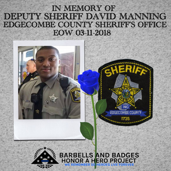 DEPUTY SHERIFF DAVID LEE'SEAN MANNING