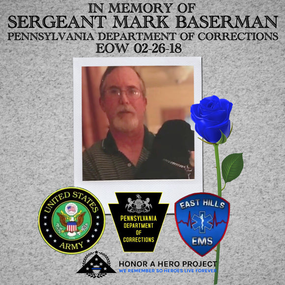 SERGEANT MARK BASERMAN