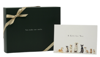 Gift Box with Ribbon and Personal Message
