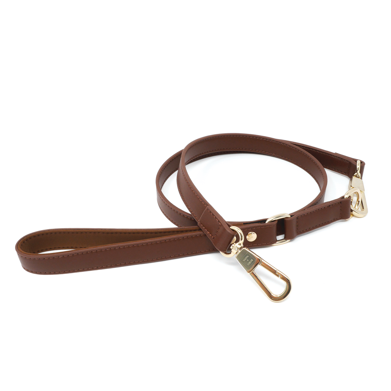 Leash - Chocolate Brown - BOBO & NANA