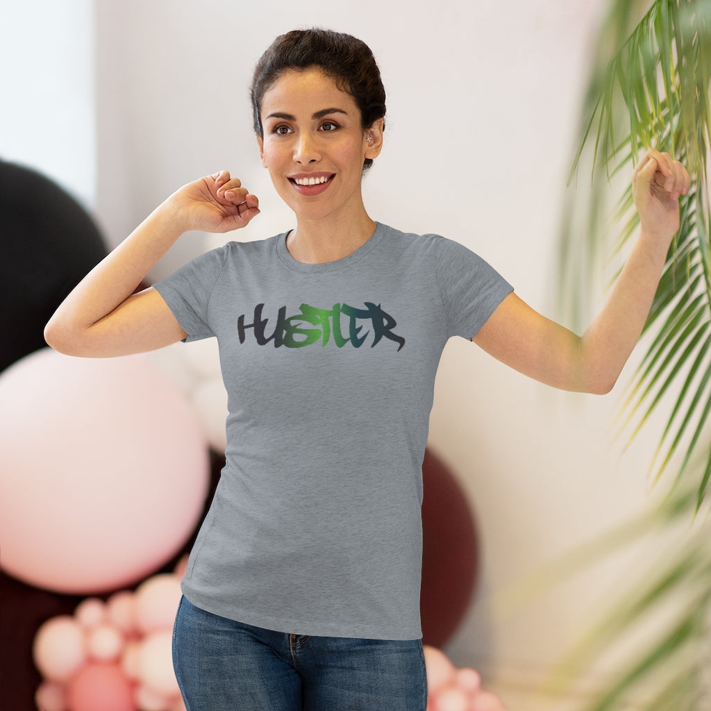 Womens Tee Hustler Multi 27