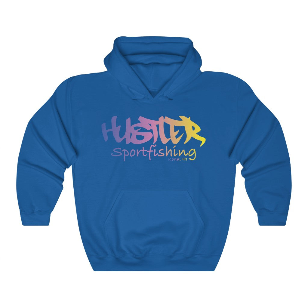 Relaxed Hoodie Multi 18 Sportfishing Front