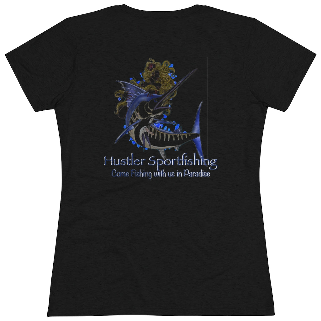 Womens Tee Dark Marlin Queen