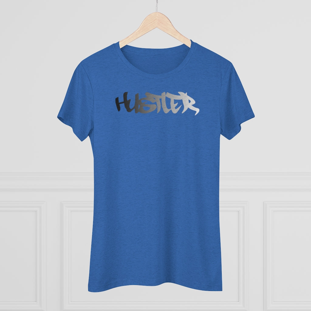 Womens Tee Hustler Spectrum 5