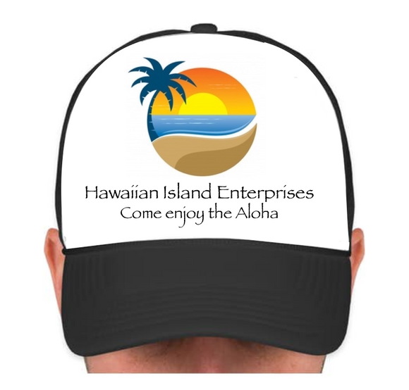 HIE Cap with Beach and Aloha