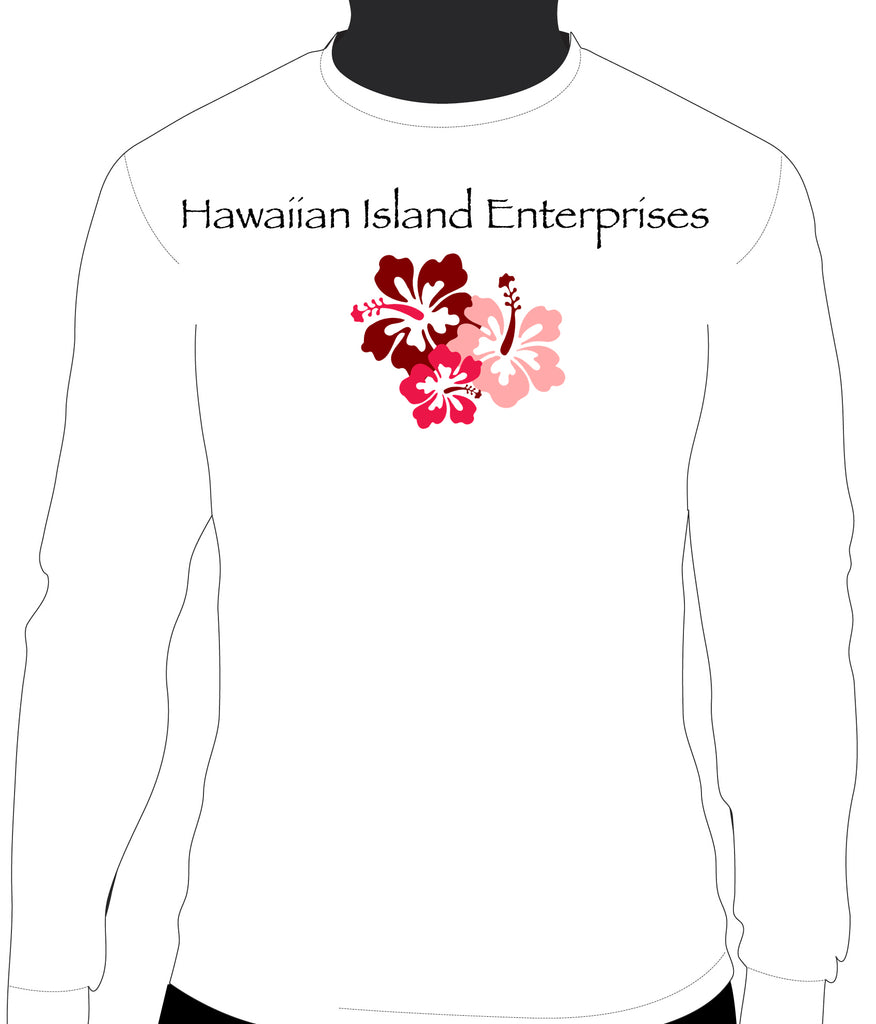 HIE Hibiscus Front with Blacks Islands Back