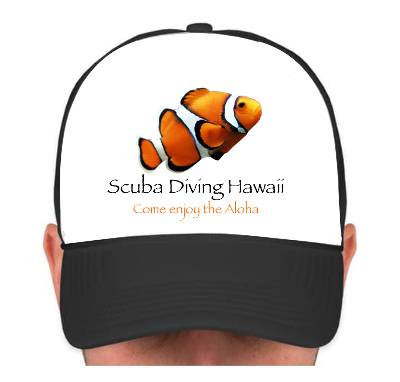 SDH Cap with Orange Fish