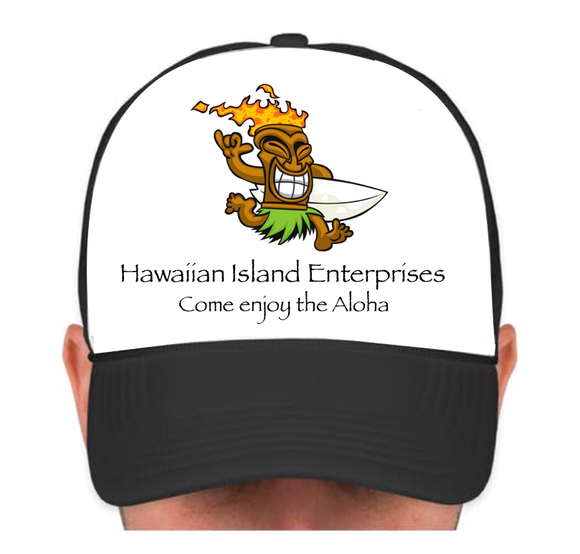 HIE Cap Surfing Dude with Aloha