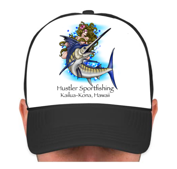 Hustler Cap with Marlin Queen