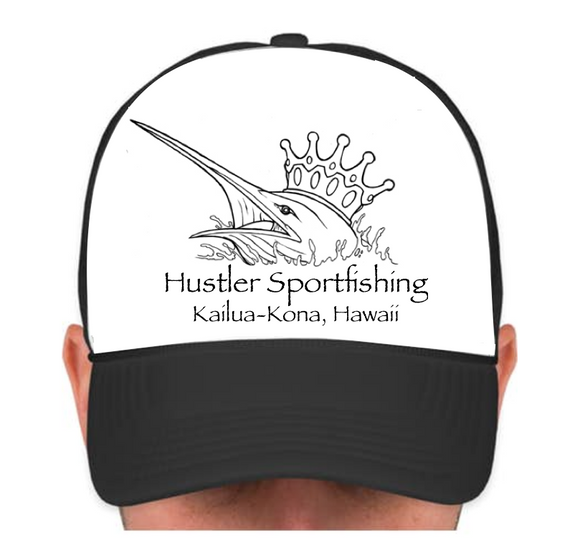 Hustler Cap with King Marlin
