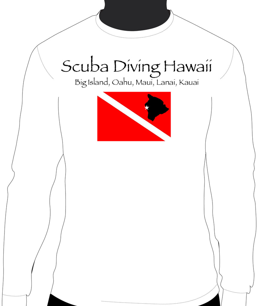 SDH Scuba Flag Front with Red Manta Low Back