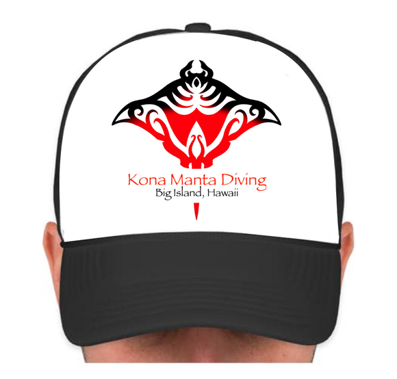 HIE Manta Cap with Red KMD