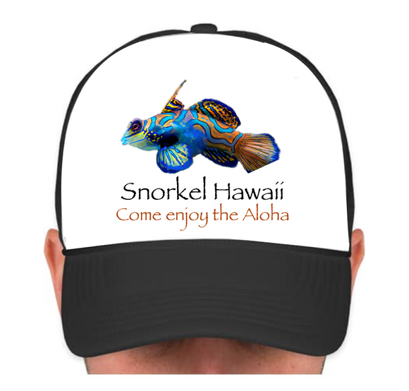 HIE SH Cap with Multicolor Fish Flat
