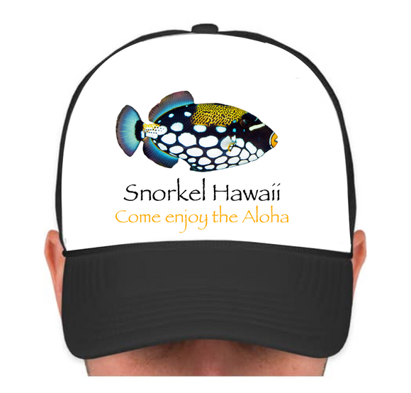 HIE SH Cap with Spotted Fish