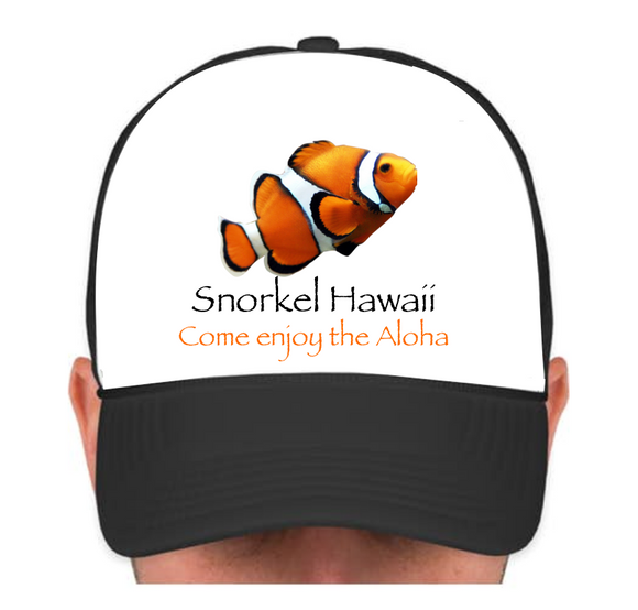 HIE SH Cap with Orange Fish